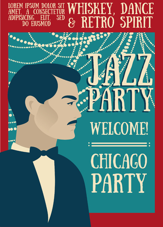 Poster for jazz show