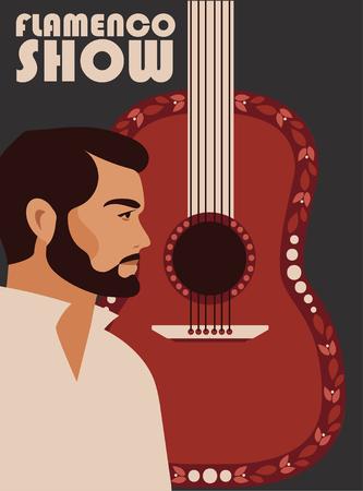Poster for flamenco show