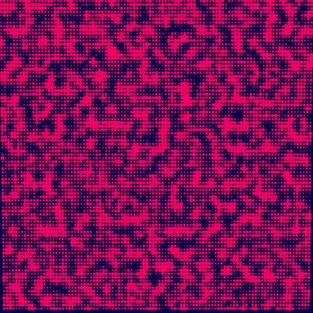 Abstract halftone background. Broken code