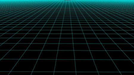 Vector 3D mesh. Background Lines.