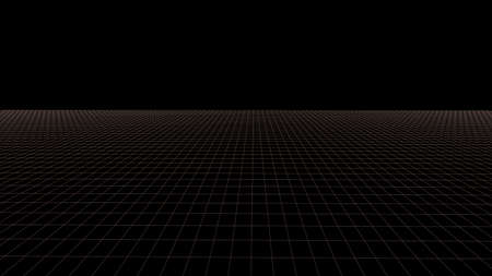 Vector 3D mesh. Background Lines.