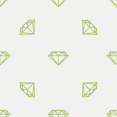 Mineral. Vector Patterns in a Linear Style. Geology, Jewel crafting, Gemology. Vector illustration. Isolated background Stock Illustratie
