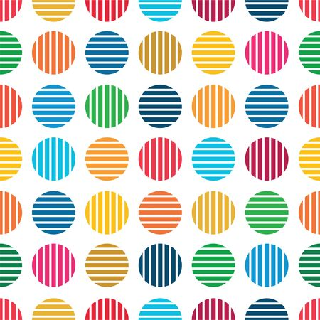 Color Abstract Pattern in Colors Palette Sustainable Development Goals.