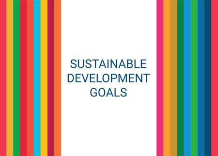 Sustainable Development Goals. Abstract Vector Illustration 写真素材 - 155484456