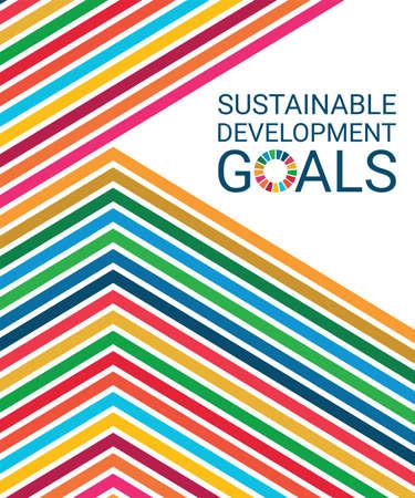 Cover. Sustainable Development Goals. Vector Illustration EPS