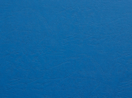 embossed paper: embossed paper with the texture of the leather blue color background Stock Photo