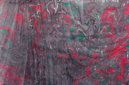 background textures: traditional Turkish Ebru technique. painting on water, followed by paper prints