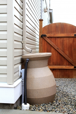 coletor: Residential eological rain collector for watering