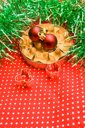 pastry cutters: Pastry cutters and christmas balls