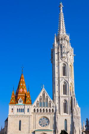 stephen: St. Matthias church, Budapest Stock Photo