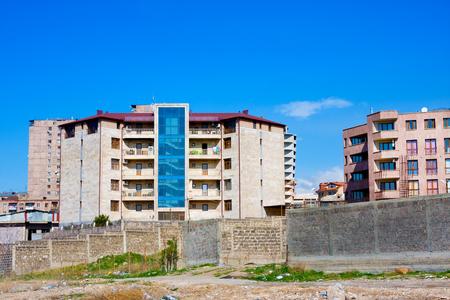 Multi-storey modern luxury apartment houses in Yerevan, Armenia