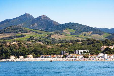 Argeles-sur-Mer en el departamento de Pirineos Orientales, región de Languedoc-Roussillon, en el sur de Francia