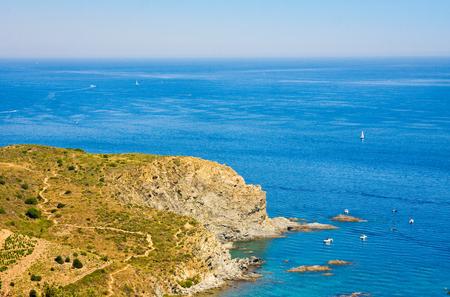 Cerbyre Banyuls, Mediterranean Sea, Pyrenees Orientales, Cote Vermeille