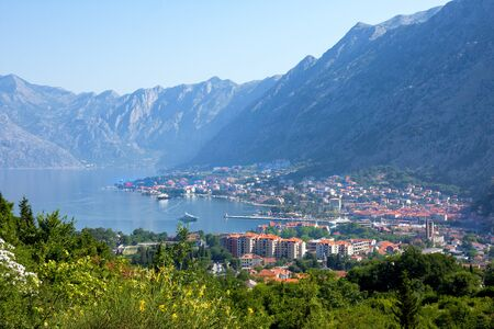 Kotor - popular summer resort, Montenegro