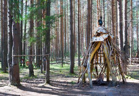 Ded Moroz (Santa Claus) Residence near city of Veliky Ustyug in Vologda region