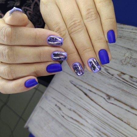 beautiful manicure design on a stylish background 版權商用圖片