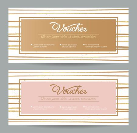Christmas Gift Voucher Coupon Discount. Gift Certificate Template ...