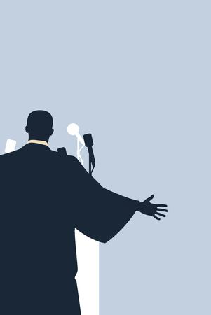 Martin Luther King Day flyer, banner of poster. Vector illustratie