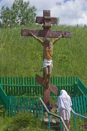 orison: prayer in the holy spring.
