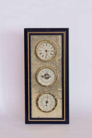 determines: Stazione meteo Casa determina il tempo, pressione barometrica, temperatura