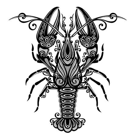 lobster: Lobster Patterned design