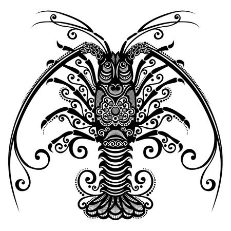 Spiny Lobster Patterned design