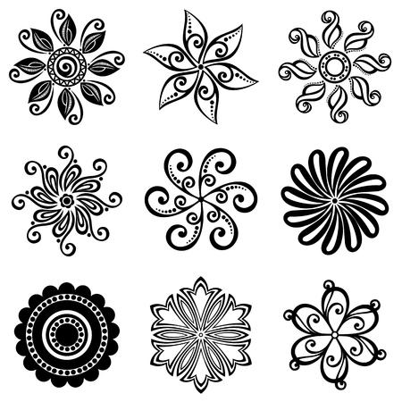 Small Circles  Design elements Vector