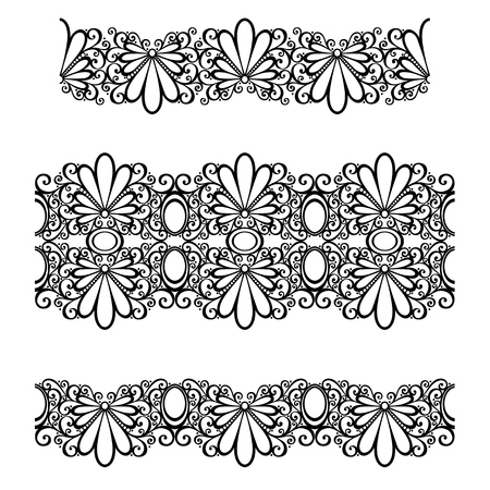 Decorative Floral Frame, Ornament  Vector Stock Vector - 26470735