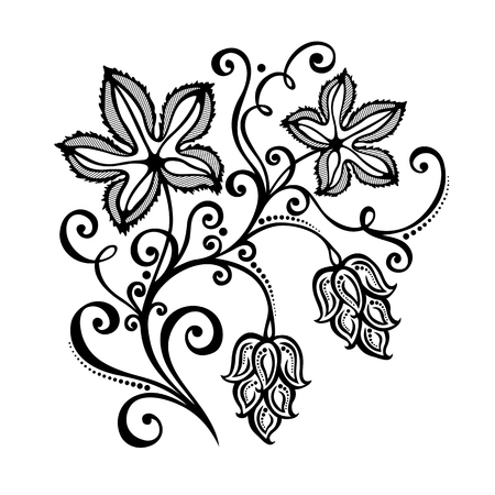 suds: Vector Decorative Bush Hop