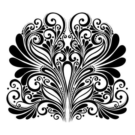 Vector Deco Abstract Symmetric Element  Design elements Vector