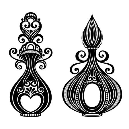 odors: Vector Decorative Ornate Perfume