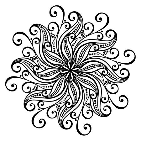 Beautiful Deco Abstract Circle  Vector , Mandala