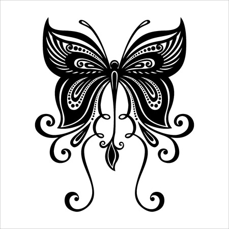 patterned: Vector Beautiful Dragonfly, Exotic Insect  Patterned design, Tattoo Illustration