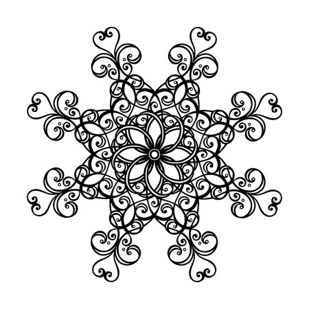 Beautiful Deco Circle  Vector , Patterned design Vector