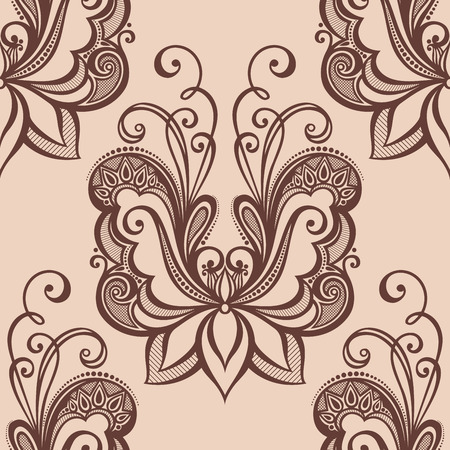 burgeon: Seamless Floral Pattern
