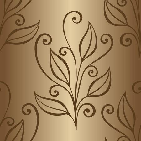 burgeon: Seamless Floral Pattern   Illustration