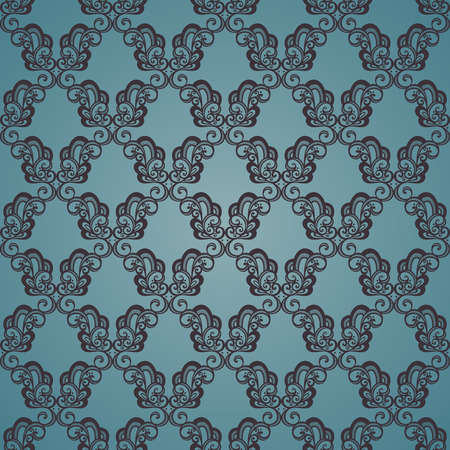 vintage texture: Seamless Ornate Pattern  Vector   Hand Drawn Vintage Texture