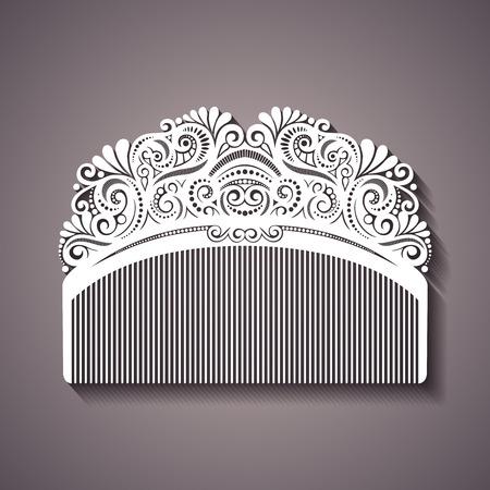 Ornate Comb