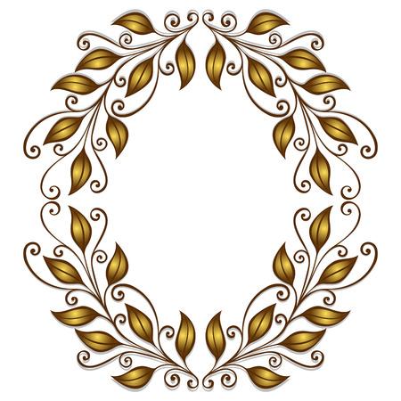 mvp: Vector Gold Laurel Wreath