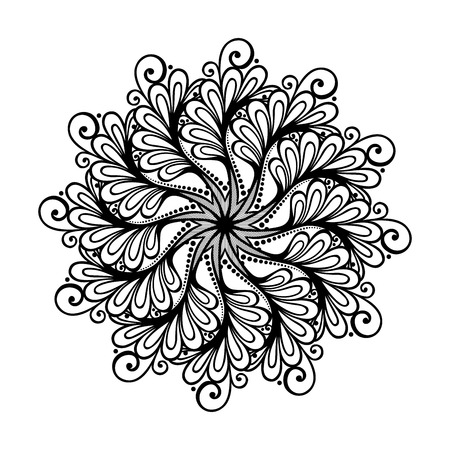 Beautiful Deco Mandala (Vector), Patterned Design, Amulet