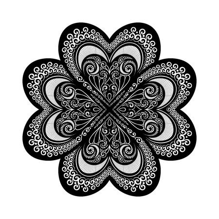 amulet: Beautiful Deco Mandala (Vector), Patterned Design, Amulet