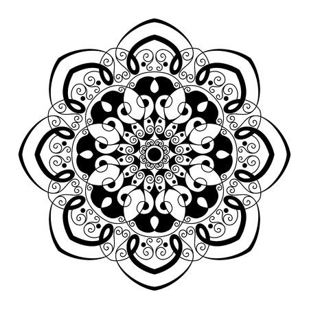mandala tattoo: Beautiful Deco Mandala (Vector), Patterned Design, Amulet