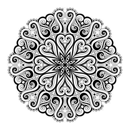 mandala: Beautiful Deco Mandala (Vector), Patterned Design, Amulet