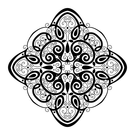 smithery: Beautiful Deco Square (Vector), Patterned Design, Amulet