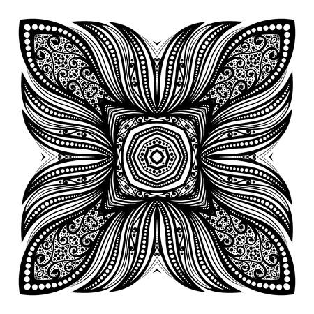 element: Black Square Design Element