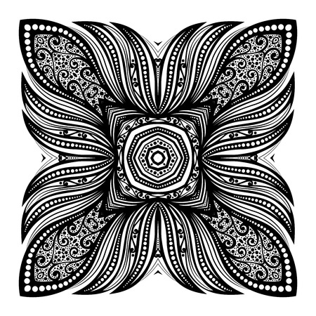 arabesco: Negro Plaza elemento de dise�o
