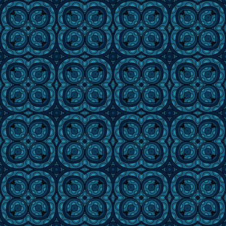 vitrage: Vector Seamless Vintage Lace Pattern. Hand Drawn Tile Texture, Ethnic Ornament