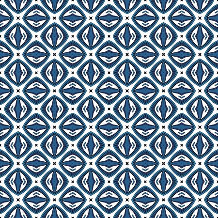 Vektor nahtlose Vintage-Spitze-Muster. Hand Drawn Tile Textur, ethnische Verzierung Vektorgrafik