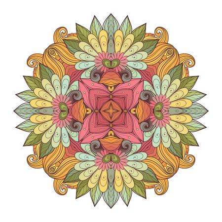 Deco Colored Contour Square