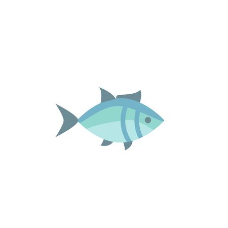 fish icon vector. fish icon glyph style design